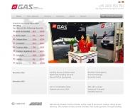 Bild Webseite GTS German Travel Service Köln