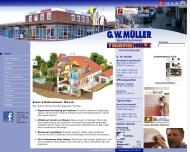 Bild Webseite G.W. Müller Flensburg