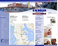 Website G.W. Müller