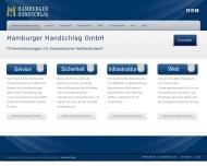 Bild Webseite Hamburger Handschlag Hamburg