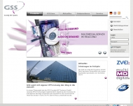 Bild Webseite GSS Grundig SAT Systems Nürnberg