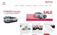Bild Webseite Häusler Automobile Darmstadt