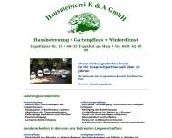 Hausmeisterei K A GmbH - Frankfurt am Main