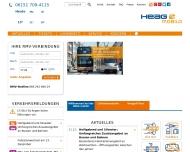 Bild Webseite HEAG mobiTram Darmstadt