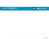 Bild Webseite Informieren & Sparen Vermittlung von Finanzdienstleistungen ... München