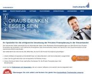 Bild Webseite Instrumenta Rösrath