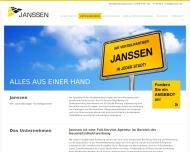 Website Direktwerbung JANSSEN
