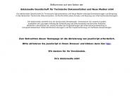Bild Webseite dok & media Gesellschaft für Technische Dokumentation und Neue Medien Aachen