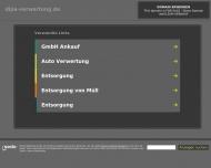 Bild Webseite DIPA Dienstleistungspartner Unternehmensberatung Berlin