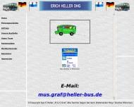 Bild Webseite Erich Heller München