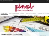 Bild Webseite Malerbetrieb Pinzl Köln