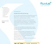 Bild Webseite Fluvius Düsseldorf