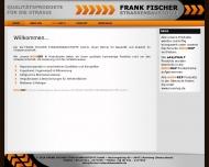 Bild Webseite FRANK FISCHER STRASSENBAUSTOFFE Nürnberg