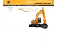 Bild Webseite JCB Vertrieb & Service Köln