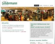 Bild Webseite Josef Lendermann Ascheberg