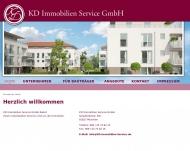 Bild Webseite KD Immobilien Service München