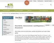 """Bild Seniorenheim """"Haus Berlin"""" gGmbH Seniorenwohn- u. Pflegeheim"""
