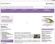 Bild Webseite Grubenentleerung Kanalreinigung Ernst Thienhaus Köln