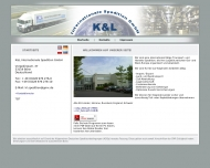 Website K & L Internationale Spedition
