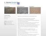 Bild K. Merkel GmbH Strassen- und Tiefbau