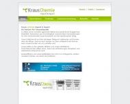 Bild Webseite Kraus Chemie Hamburg