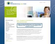 KLB Gesundheitsforschung L?beck . Pferdemarkt 6-8 . D - 23552 L?beck . Tel 0451 3969 - 676 . Fax 045...