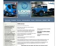 Bild Webseite Loos Mineralöle Kommanditgesellschaft Dortmund