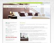 Bild Webseite Maden Gesellschaft Stuttgart