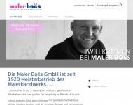 Bild Webseite Maler Boes Hamburg