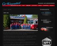 Website Kreutel Karosserie + Lack