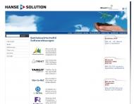 Bild Webseite HSG Hanse Solution Hamburg