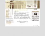 Bild Webseite Monnier Hamburger Immobilien Hamburg