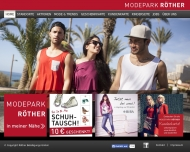 Bild Webseite Modepark Röther Stuttgart