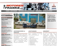 Motorenfranke - Startseite