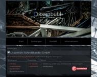 Bild Webseite Ossenbühl Schrotthandelsgesellschaft Düsseldorf