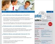 PBC Business Center Frankfurt Exklusive B?ror?ume und B?roservice