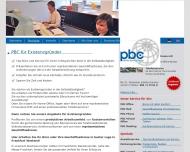 Website PBC Pfeiffer Business Center