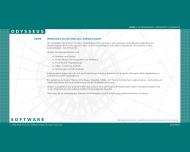 Bild Webseite Odysseus Software Frankfurt