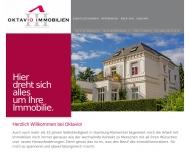 Bild Webseite Oktavio Immobilien Hamburg