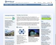 Bild Webseite Planfocus Software München