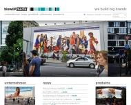 Bild Webseite DSM Mediaposter Düsseldorf