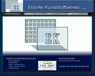 Bild Webseite Estorfer Kunststoffbetrieb Ing. Hans-Joachim Itzigehl Estorf