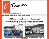 Bild E-Team Elektrotechnik UG (haftungsbeschränkt)