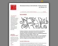 Bild Internationale Gutenberg-Gesellschaft e.V.