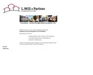 Bild Webseite L. Will + Partner Immobilienservice Berlin