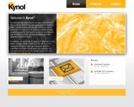 Bild Webseite Kynol Europa Import-Export Hamburg