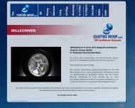 Bild Webseite Quattro Group München
