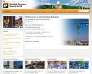 Bauunternehmung Gottlob Rommel GmbH und Co. KG - Startseite