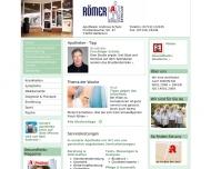 Bild Webseite Römer-Apotheke Andreas Schulz Heilbronn