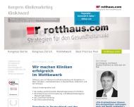 Bild Webseite rotthaus.com Köln